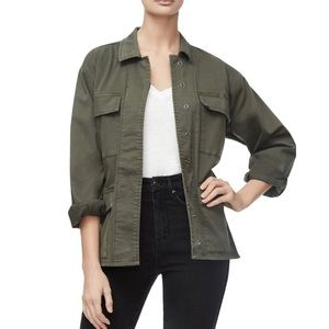 Good American The Utility Jacket Army Green